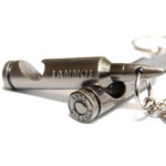 Bullet Bottle Opener Key Chain