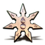Throwing Star Front