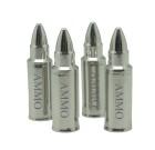 Ammo Whiskey Stone Bullets (Set of 4ea)